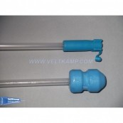 Foam tip catheter, EO+Gel